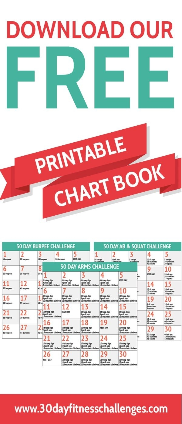Catch 30 Day Fitness Challenge Printable