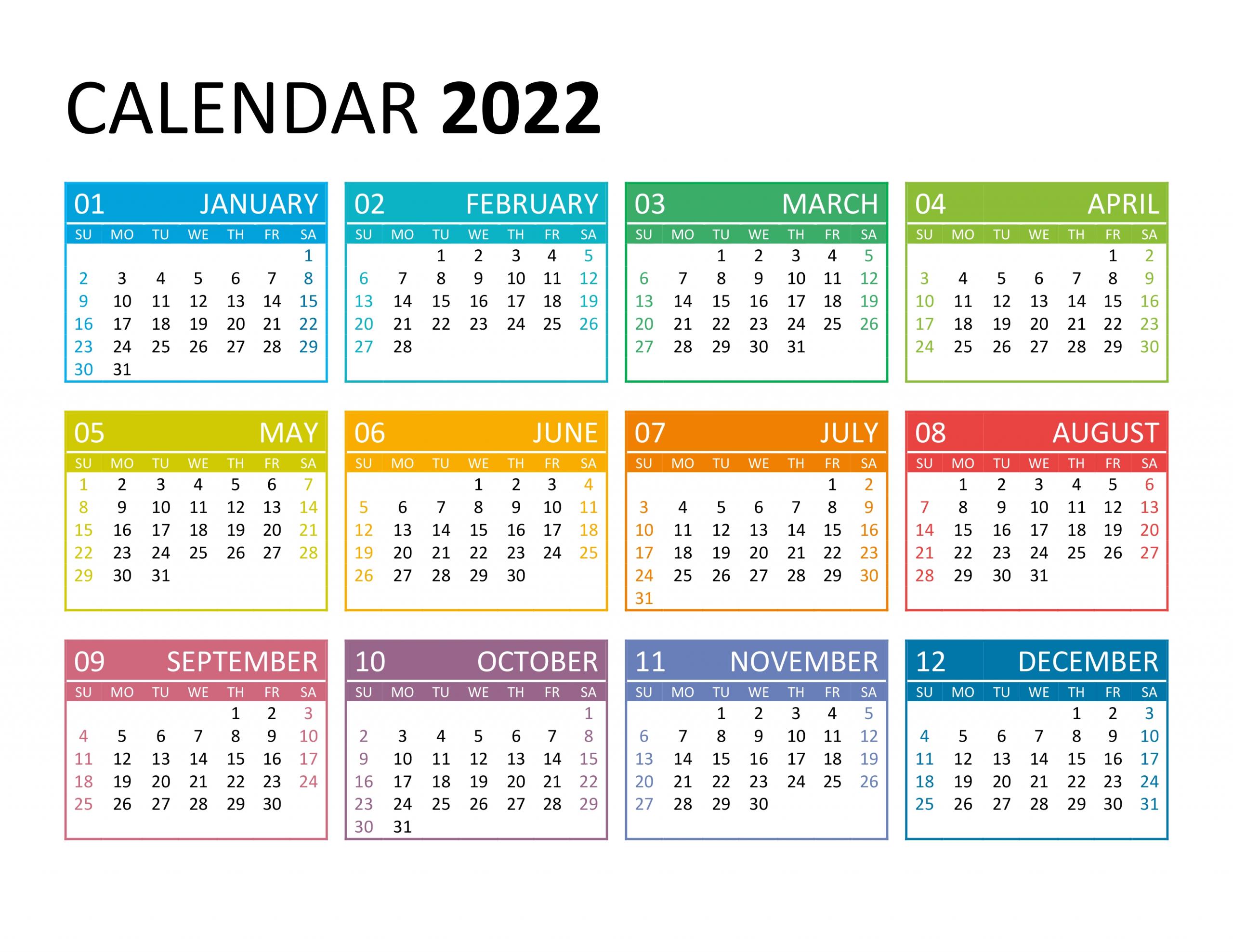 Catch Calendar 2021 2022 2022 Printable