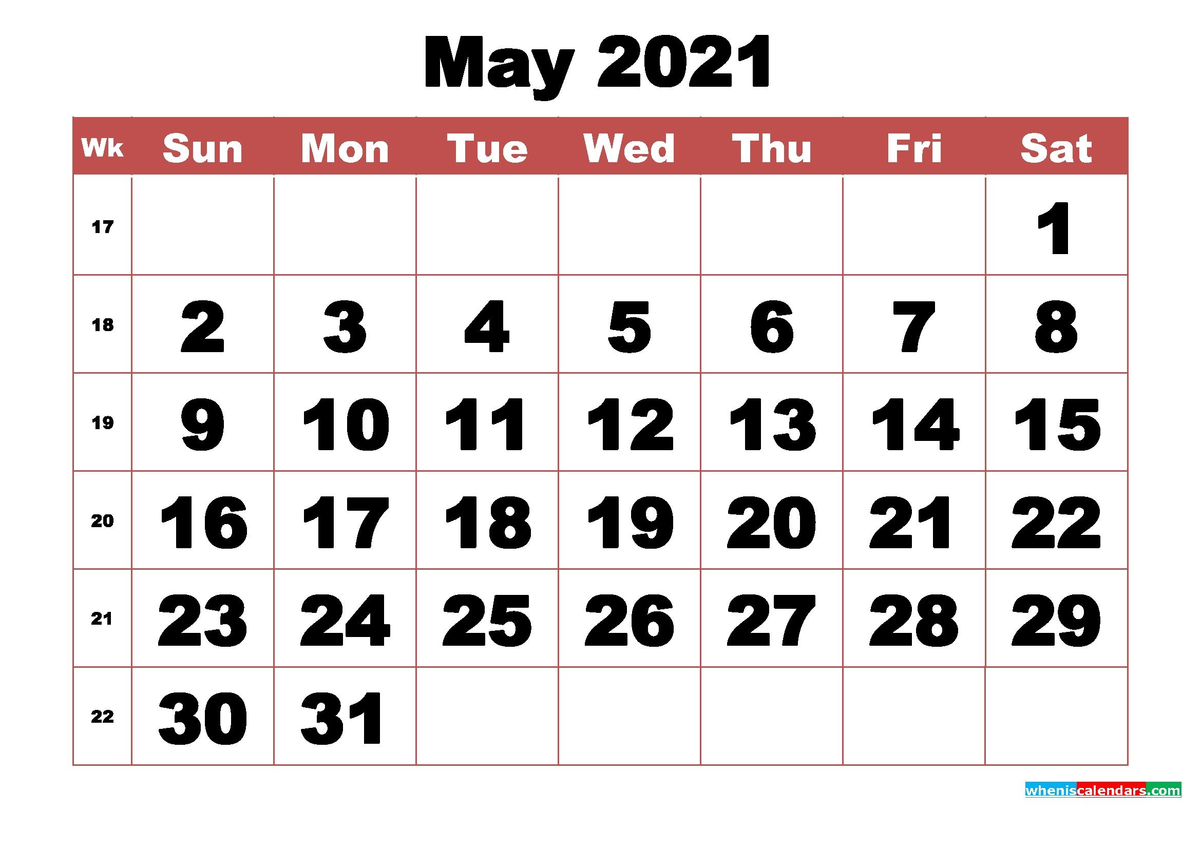 Catch Calendar To Fill In 2021