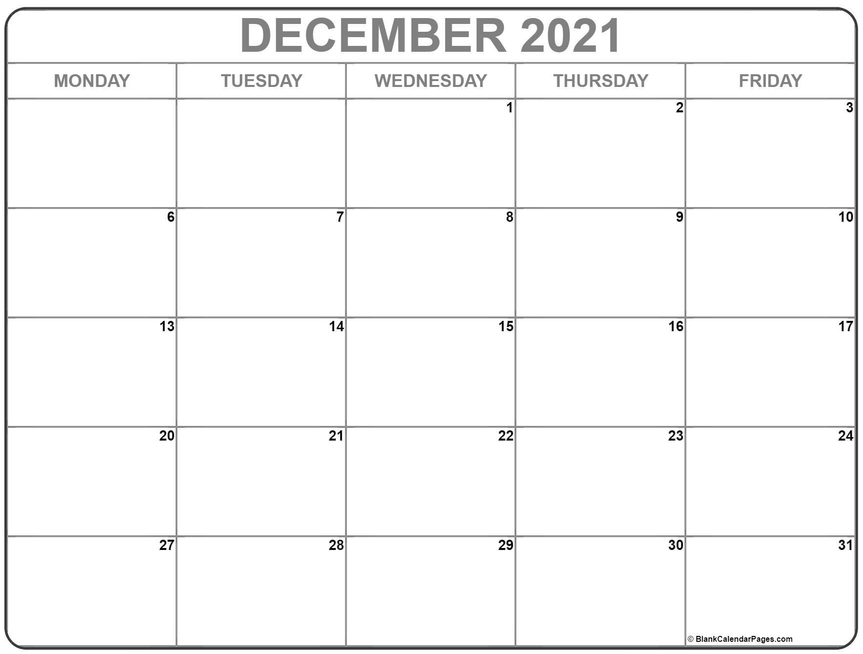 Catch Free Calendar 2021 Monday To Sunday