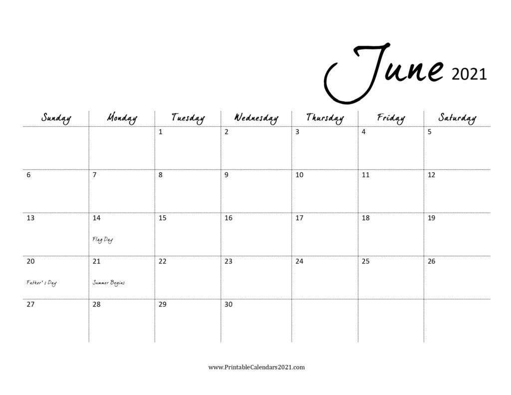 Catch June 2021 To June 2021 Calendar