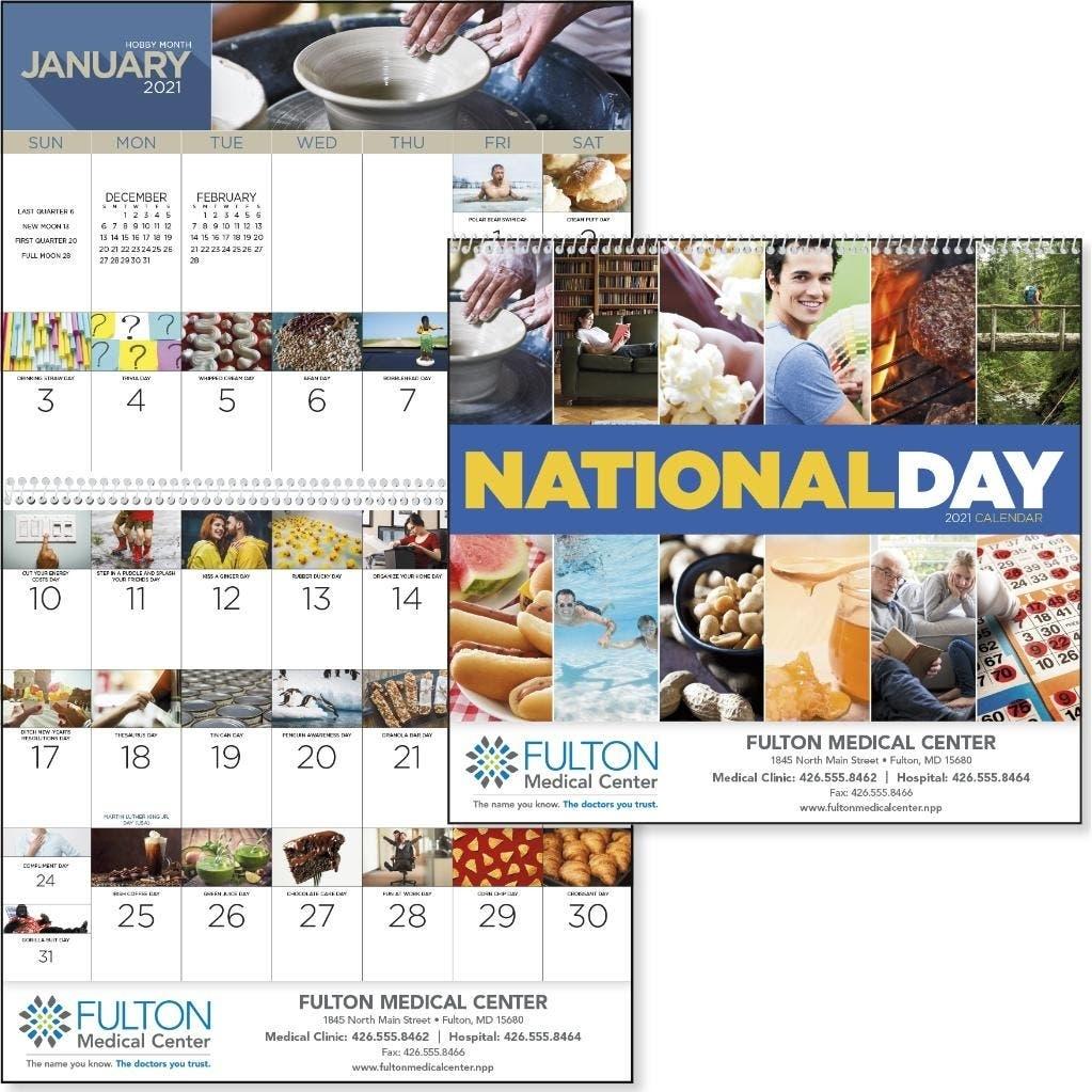 Catch National Day Calendar 2021