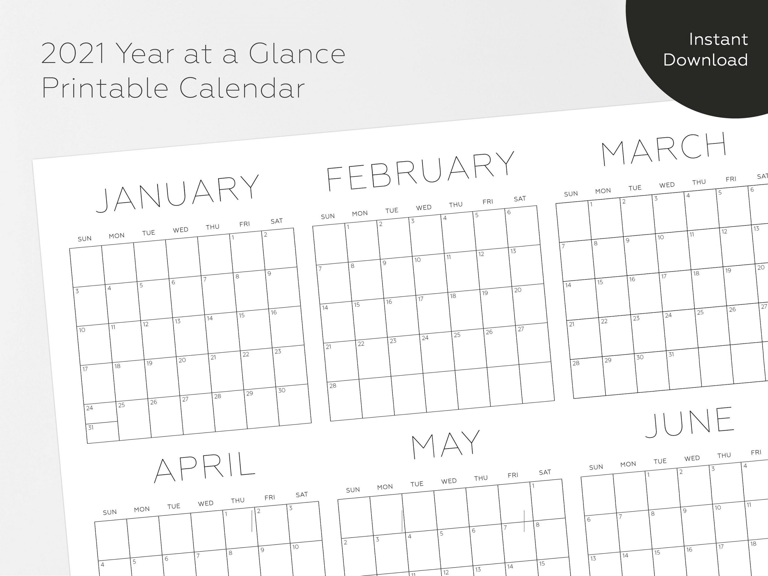 Catch Print Month In A Glance December 2021