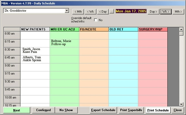 Catch Time Slot For Scheduling Every 30 Minutes Visits Calendar