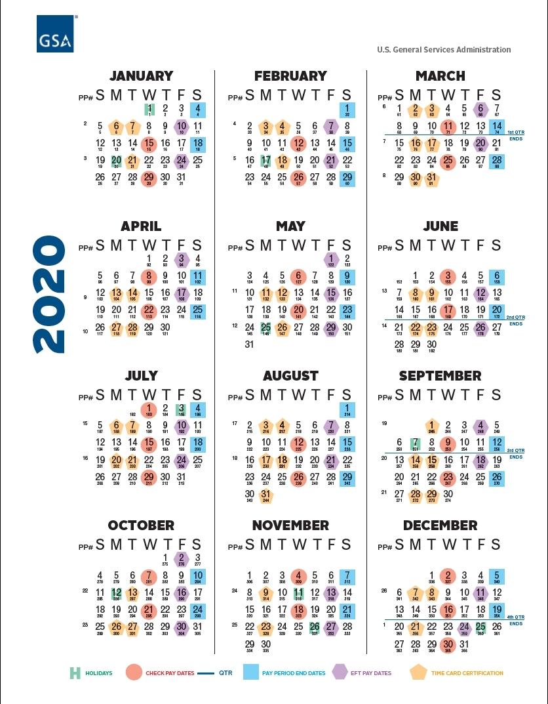 Collect 2021 Pay Period Calendar
