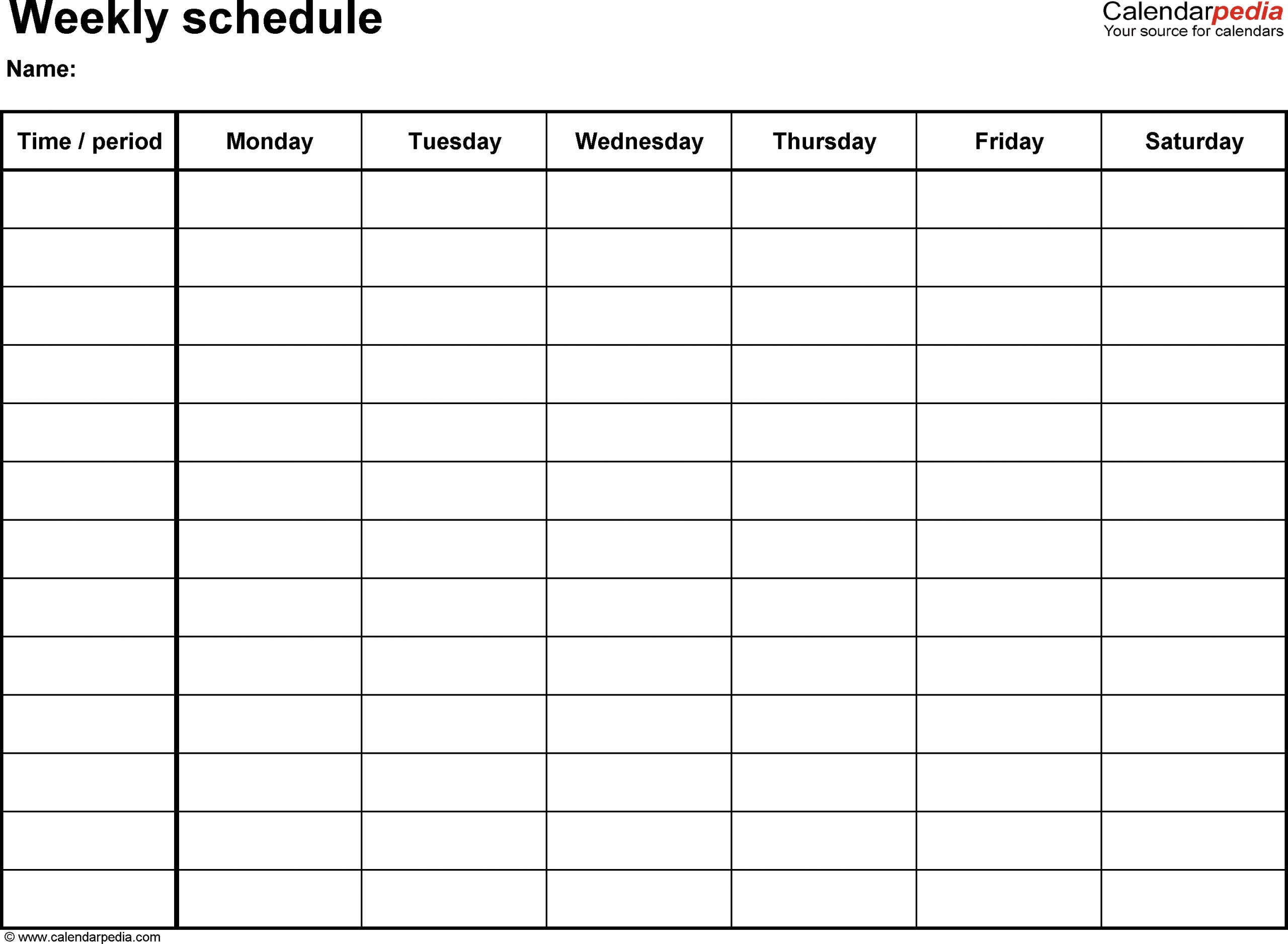Collect Apointment Schedule For Monday - Friday