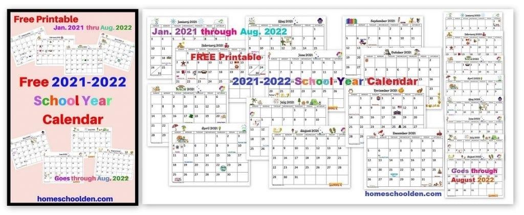 Collect Calendar 2021 2022 2022 Printable