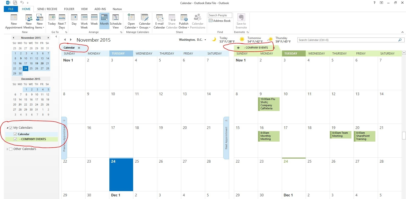 Collect Calendar Image For Sharepoint