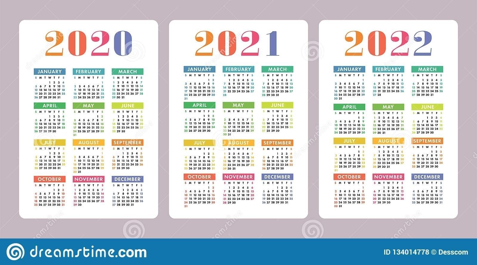 Collect Calendars 2021 2022 2023 Free Printable