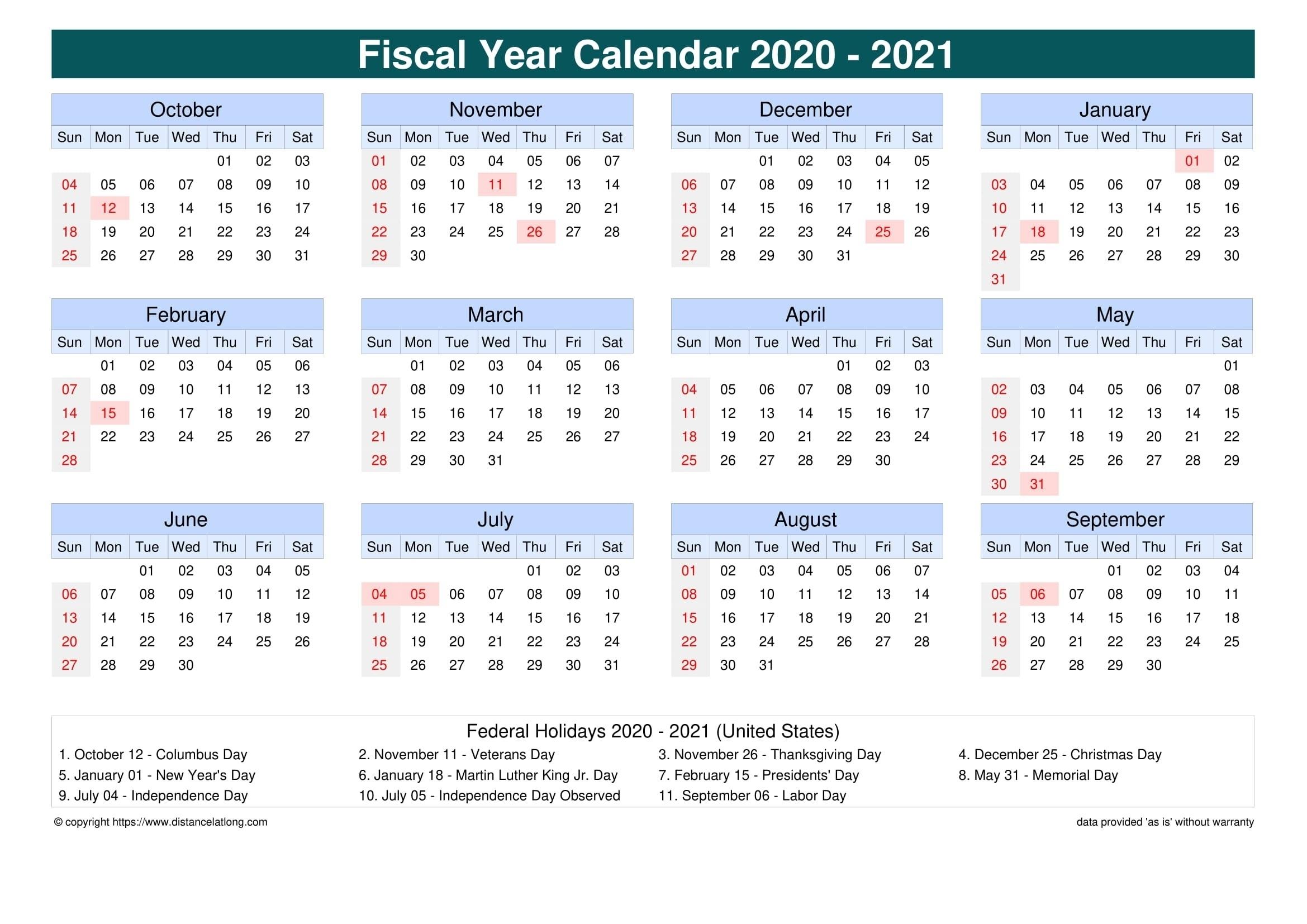 Collect Depo Continuou Calendar 2021