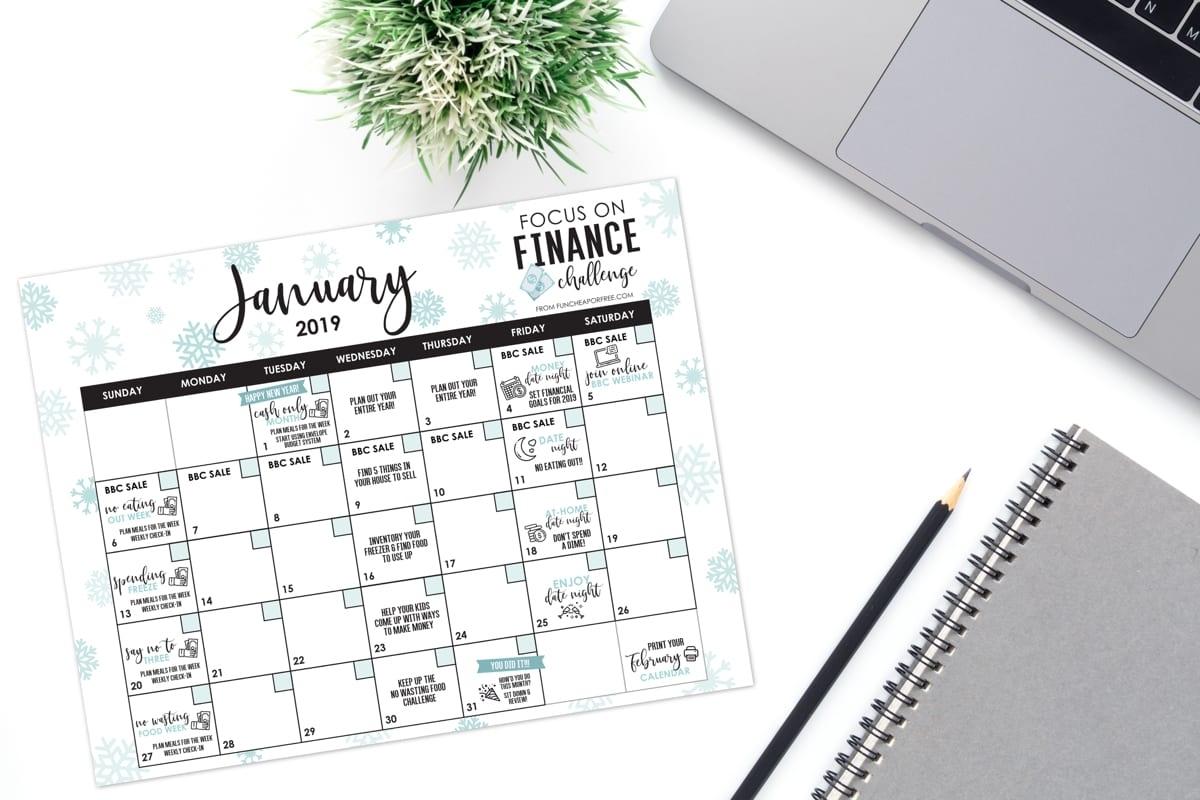 Collect Financial Weekly Calendar