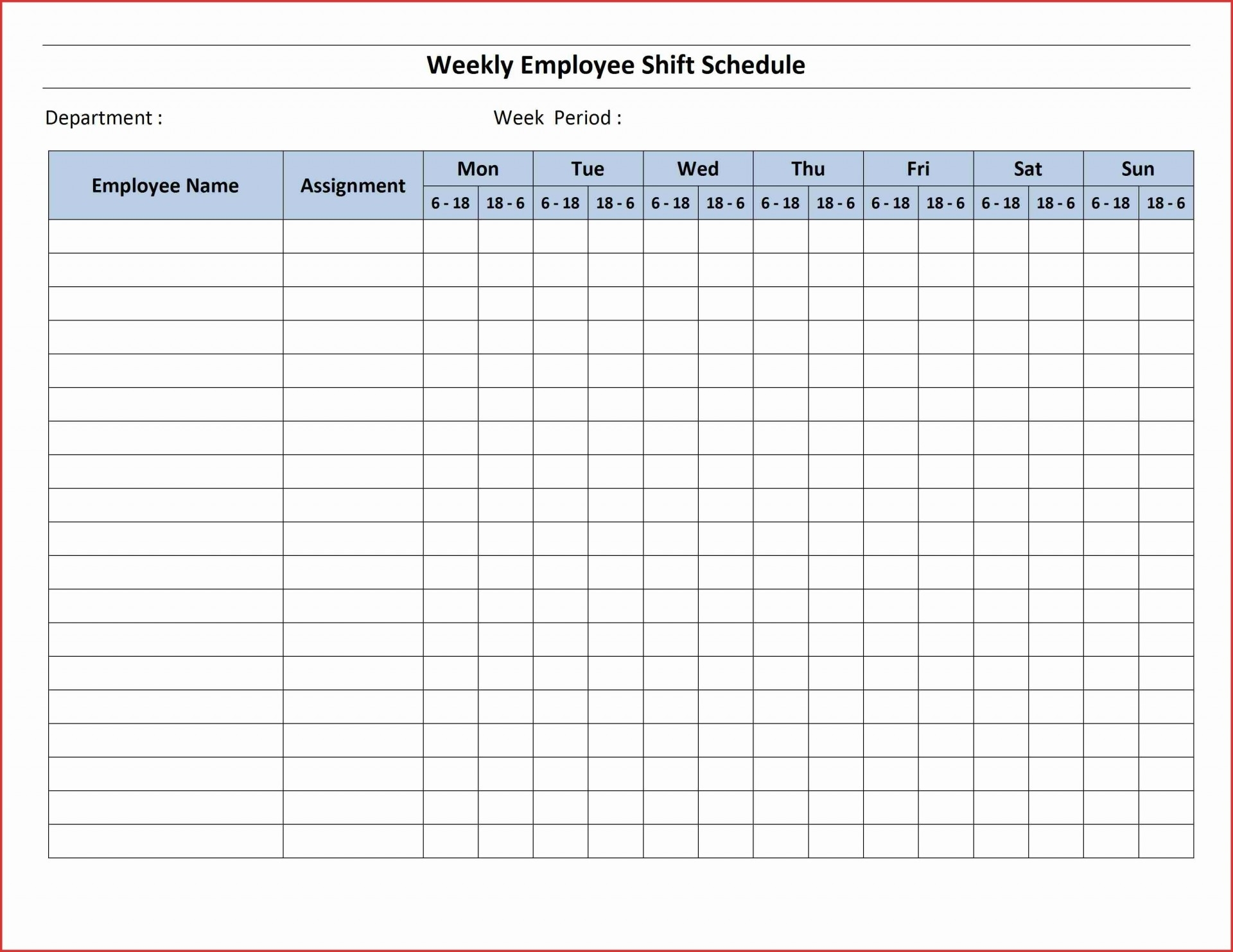 Collect Weekly Calendar With Hours Of Day