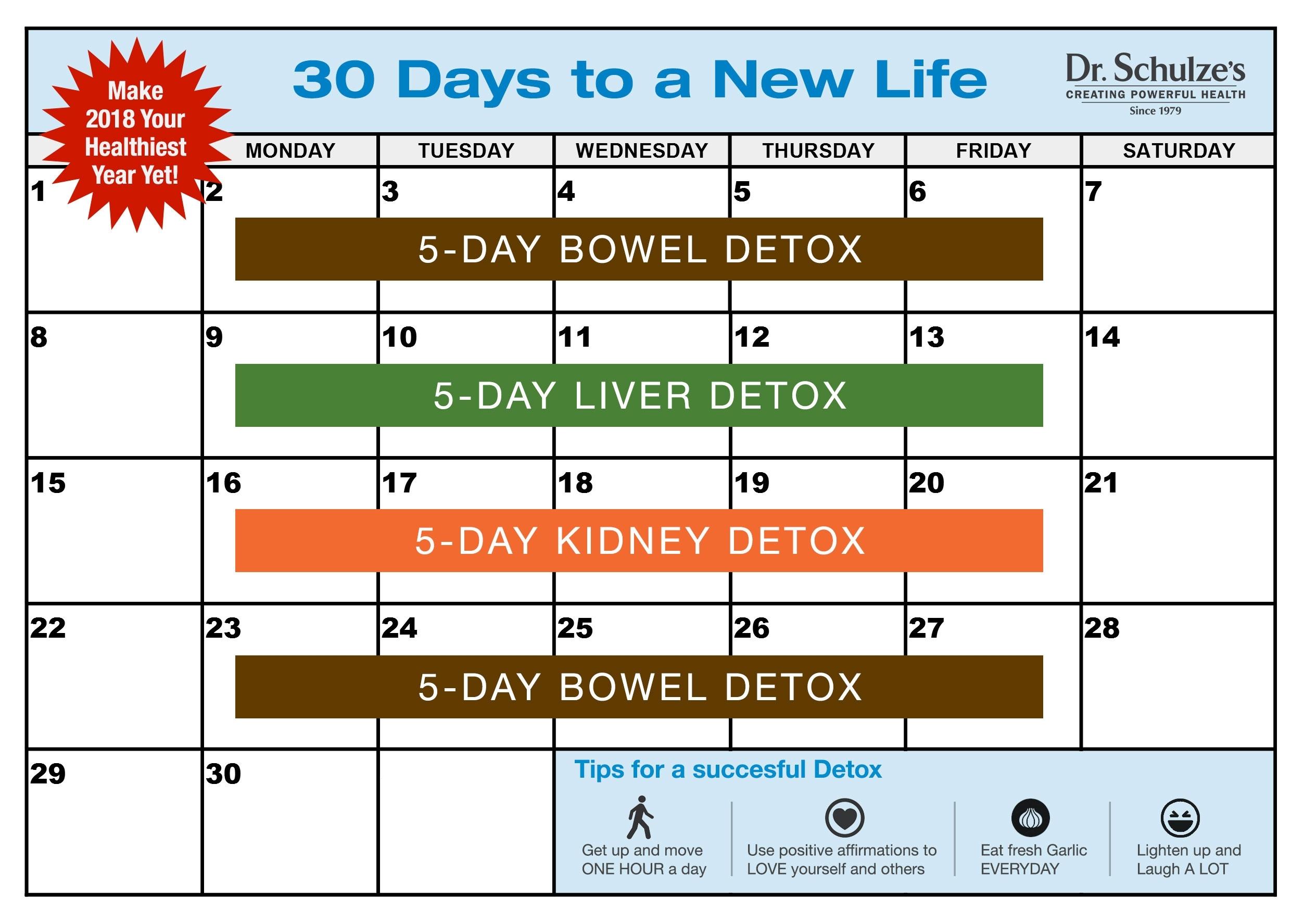 Get 30 Day Calender