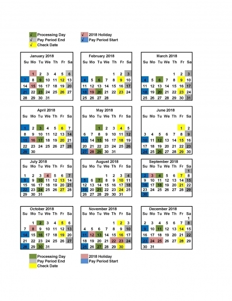 Get Federal Payroll Calendar 2021