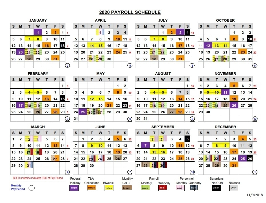 Get Federal Pp Calendar 2021
