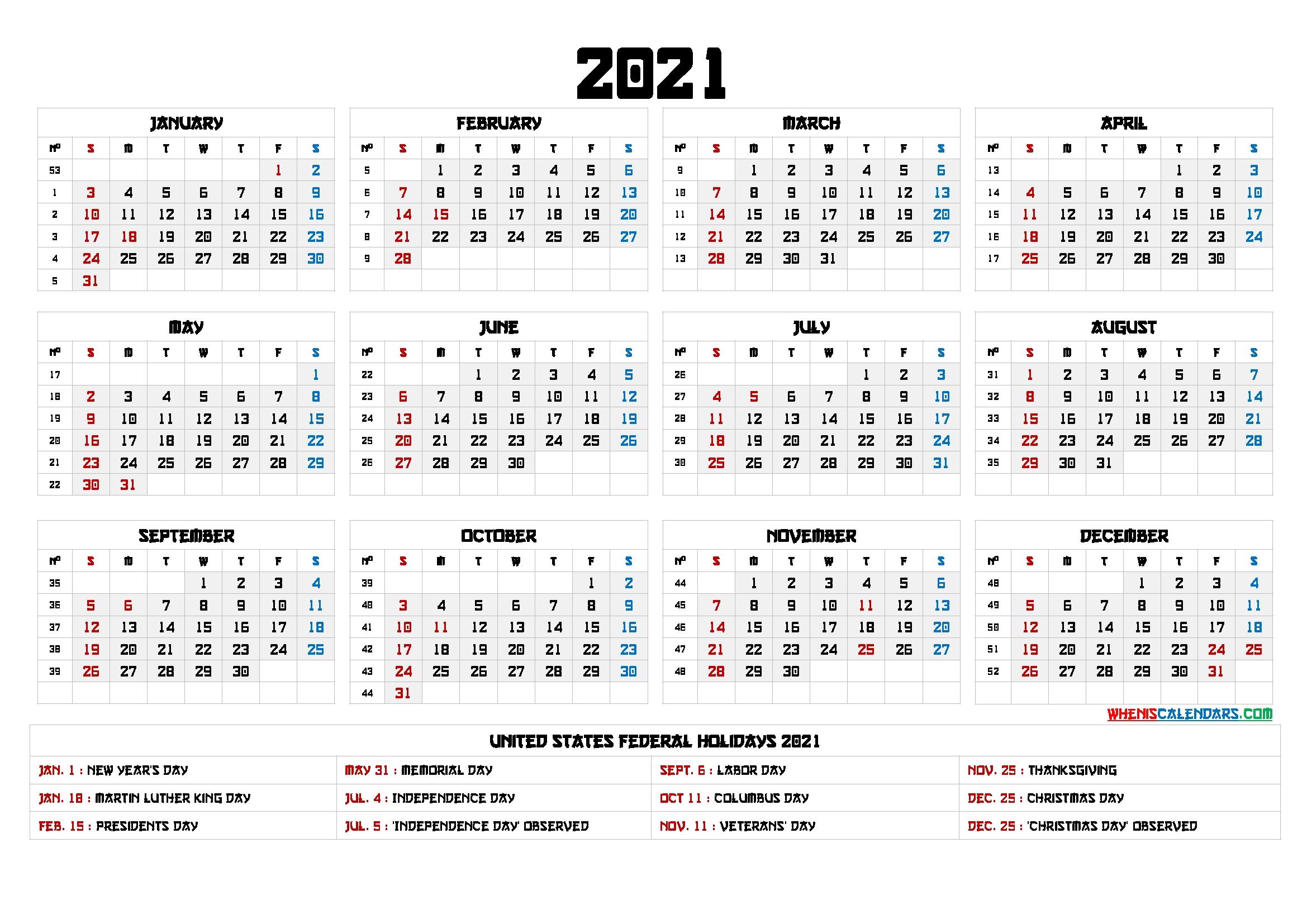 Get Financial Year Week Numbers 2021