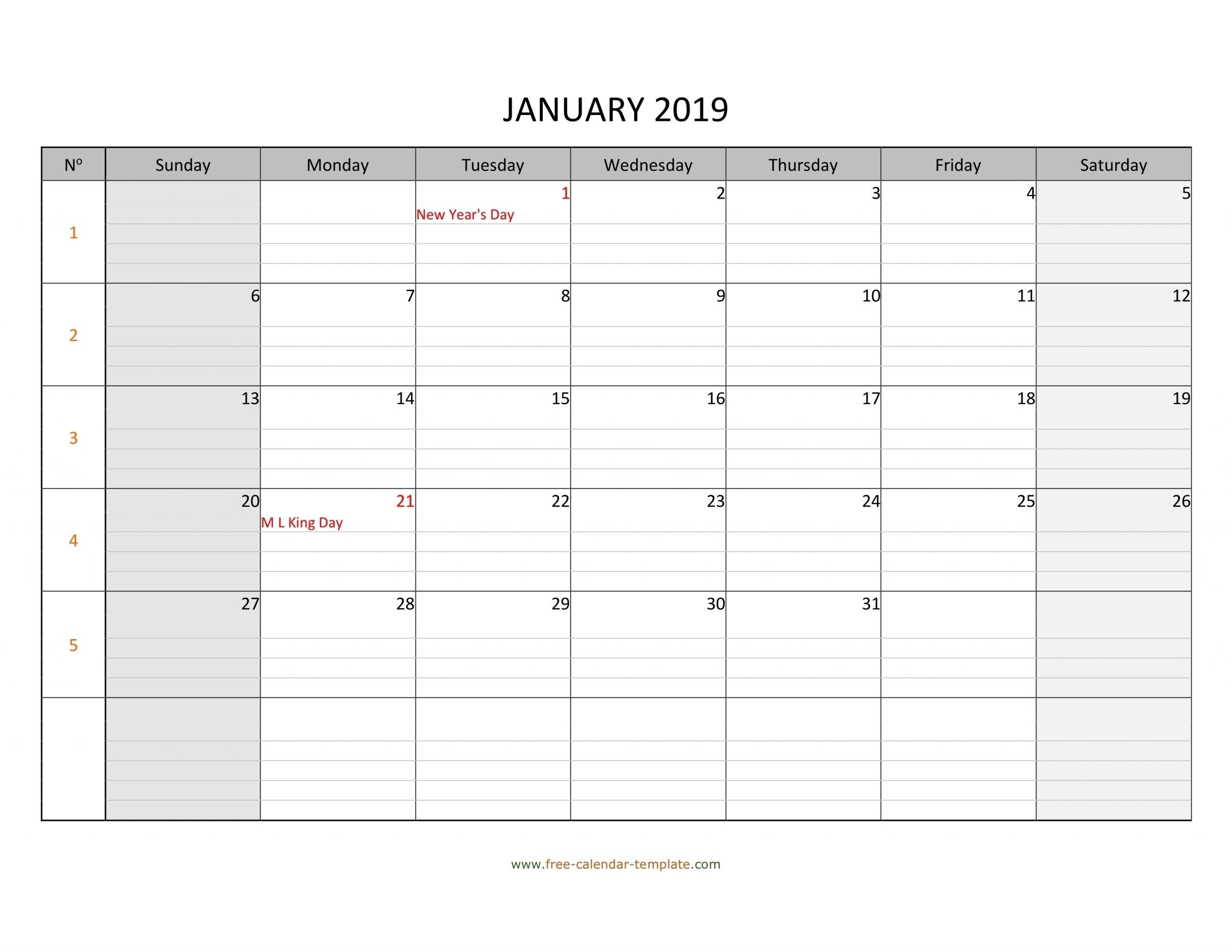 Get Free Printable Calendars No Download