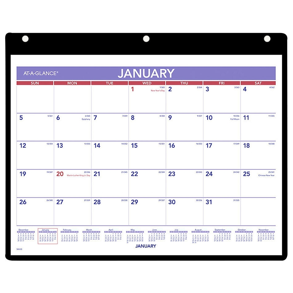 Get Month At A Glance 2021