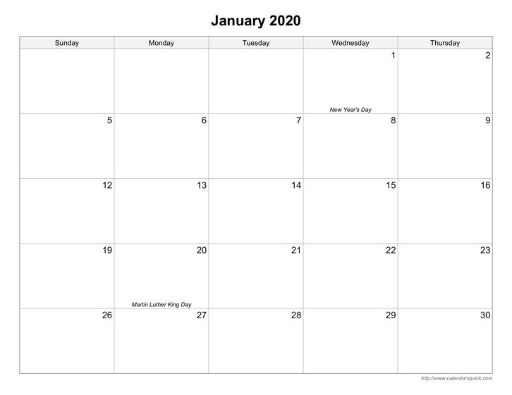 Get Pocket Printacble Calendar