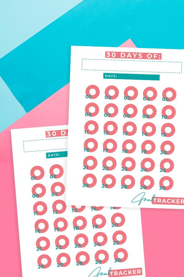Pick 30 Day Calendar