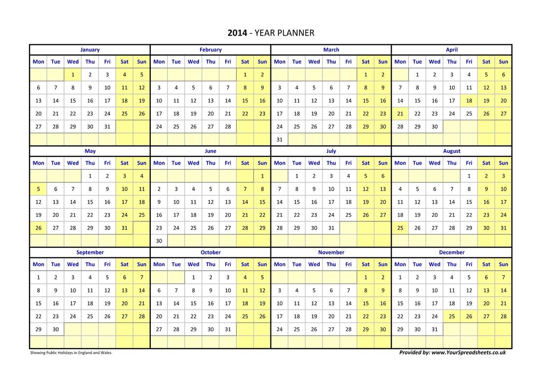 Pick Financial Year Week Number Uk