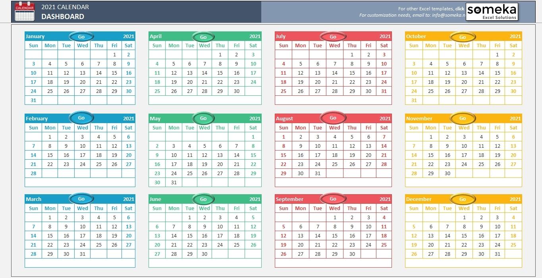 Pick Financial Year Week Numbers 2021