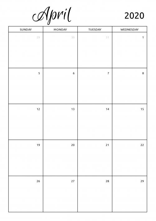 Pick Free Printable Calendars No Download