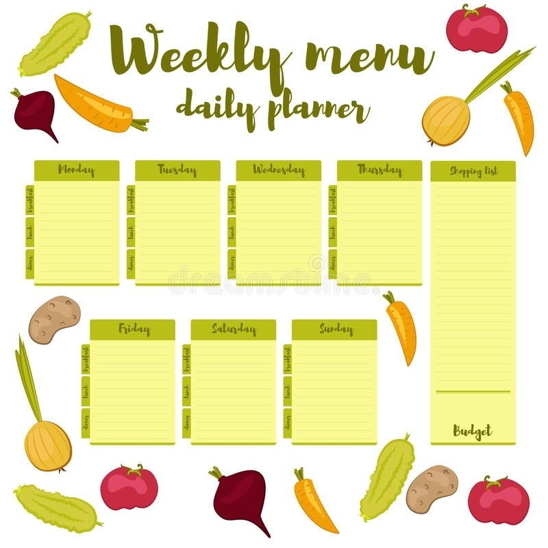 Pick Monday To Friday Weekly Calendar