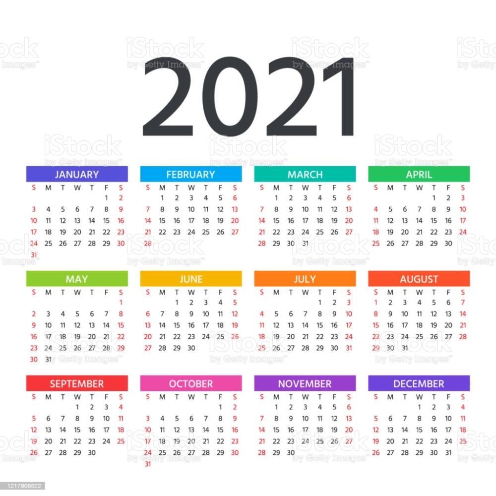 Pick Motivational Calendar Template 2021