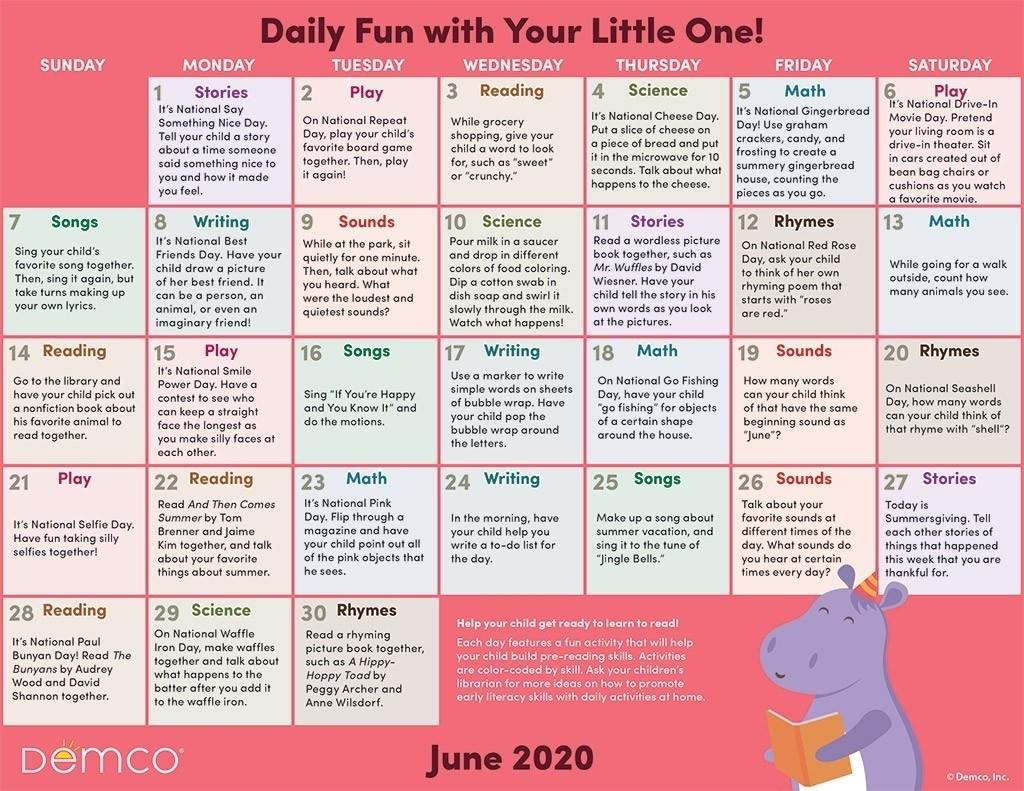 Pick Printable National Days Calendar 2021