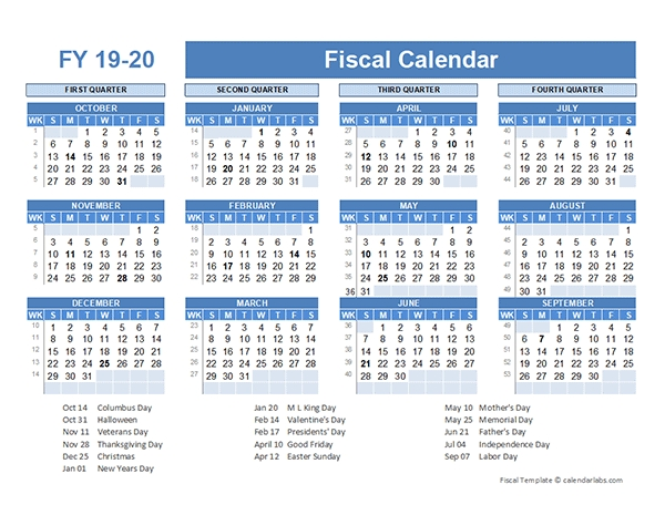 Pick What Week Of The Financial Year Is It