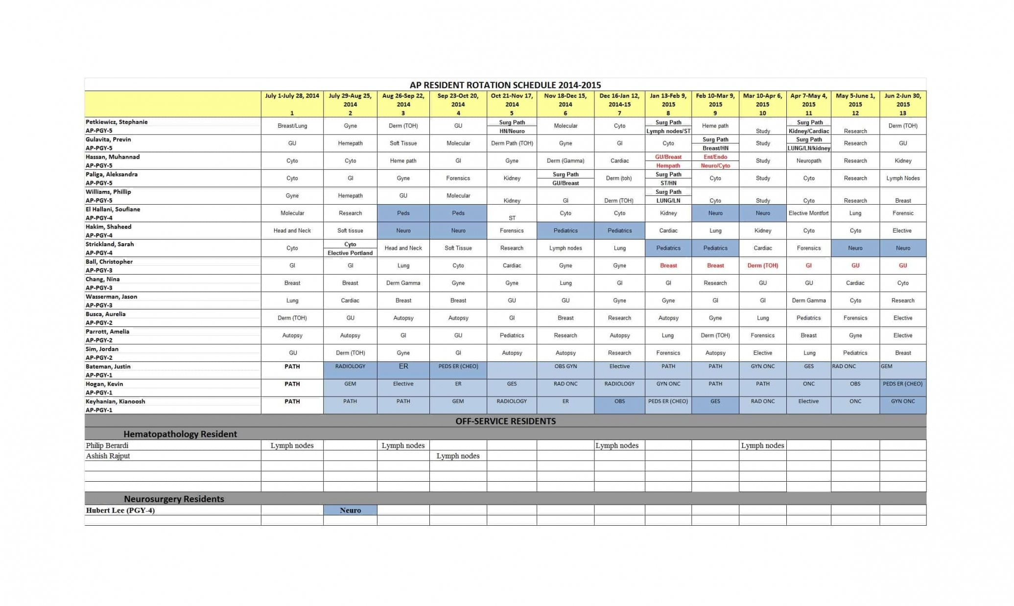 Take 12 Hour Shift Schedule Template