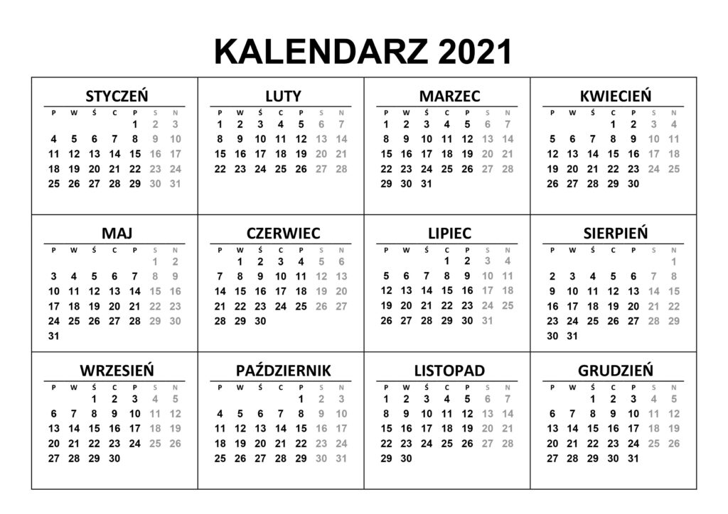 Take 2021 2021 Perpetual Depo Calandar