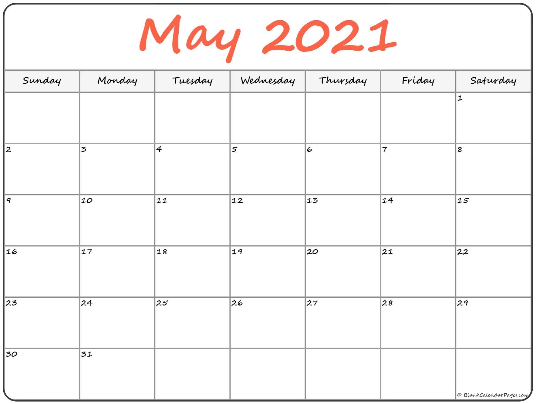 Take Downloadable Calendar Print Out 2021