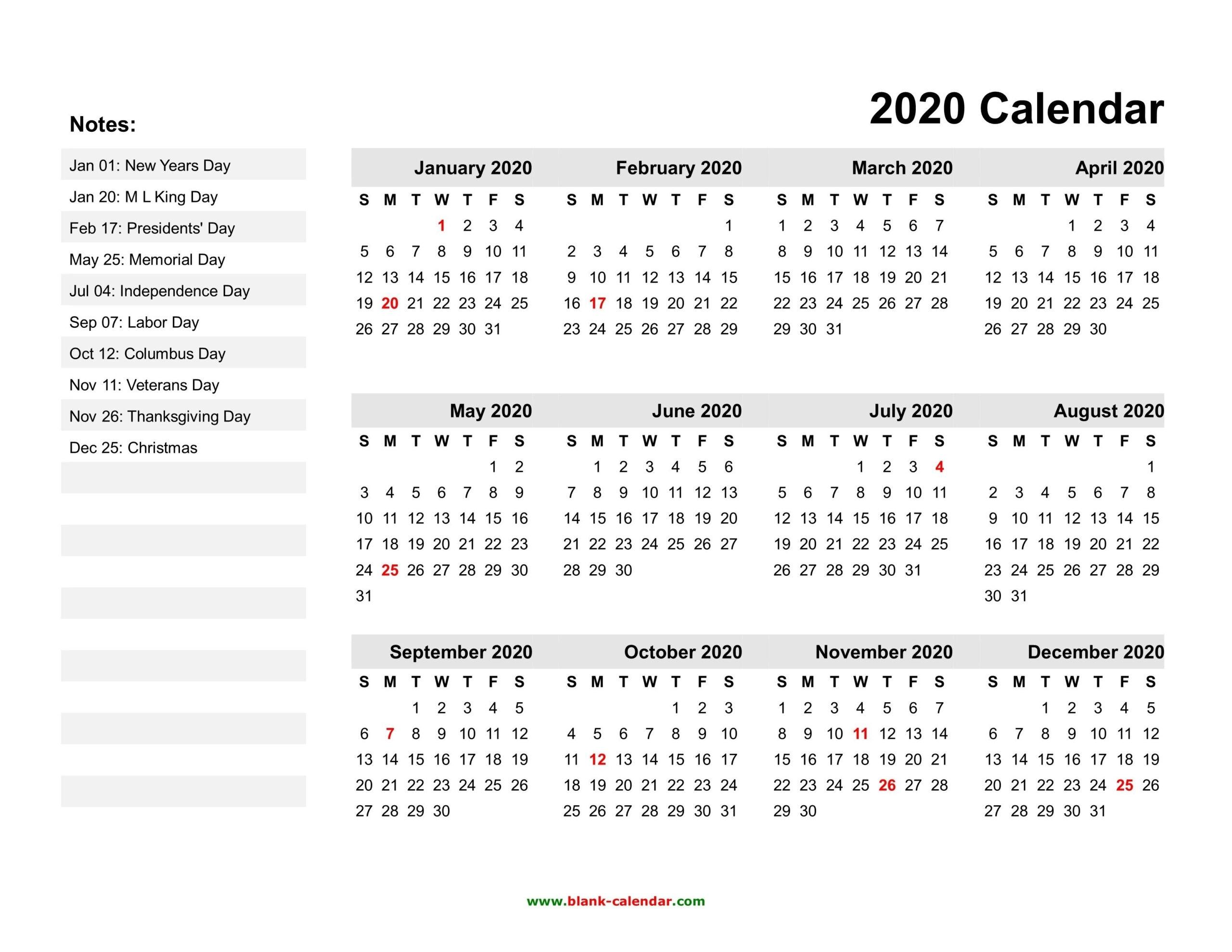 Take Free Printable Pocket Calendar