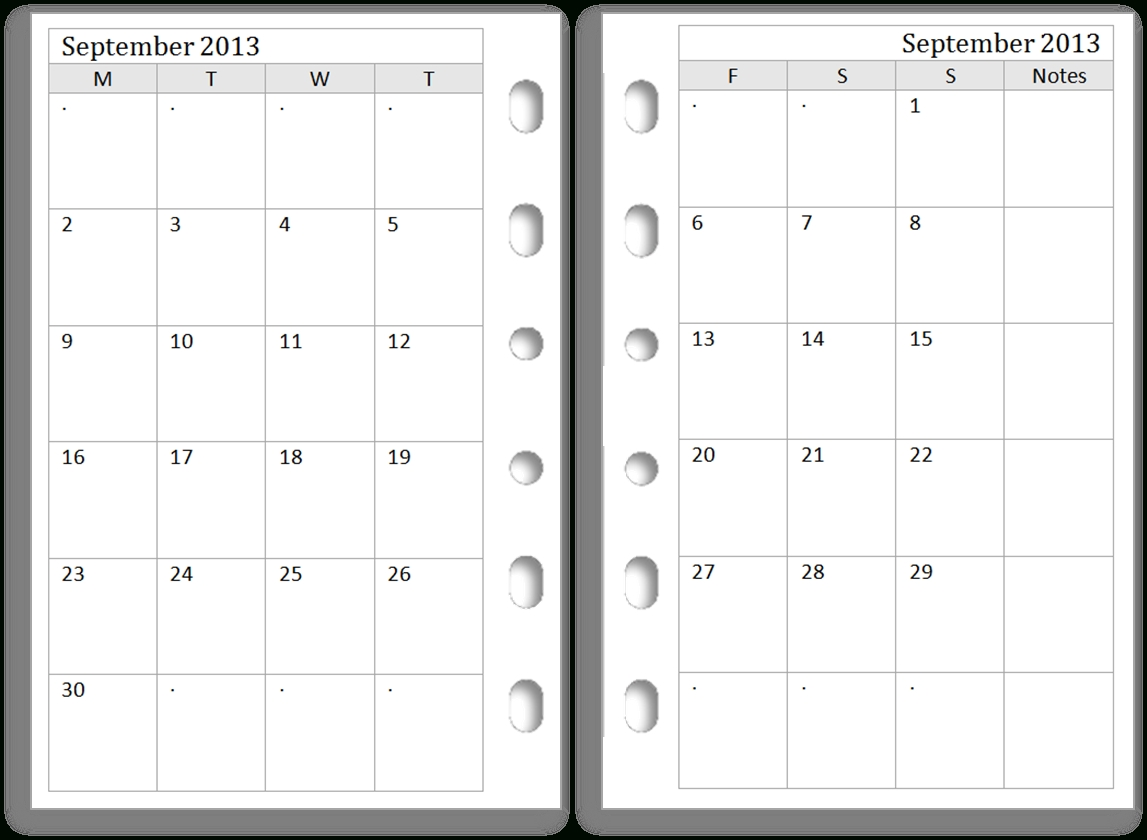 Take Pocket Printacble Calendar