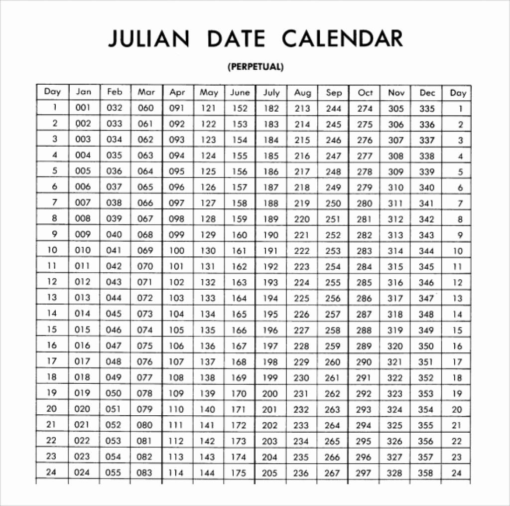 Take Print Julian Week Calendar