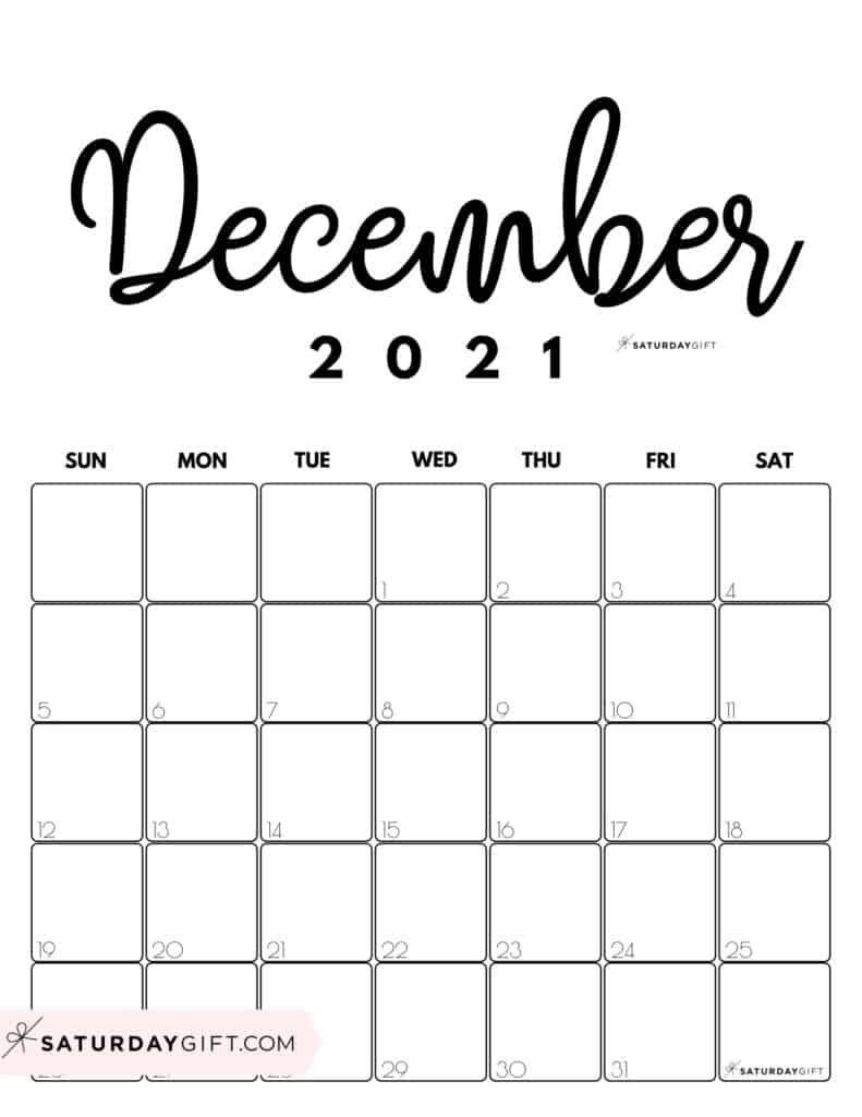 Take Print Month In A Glance December 2021