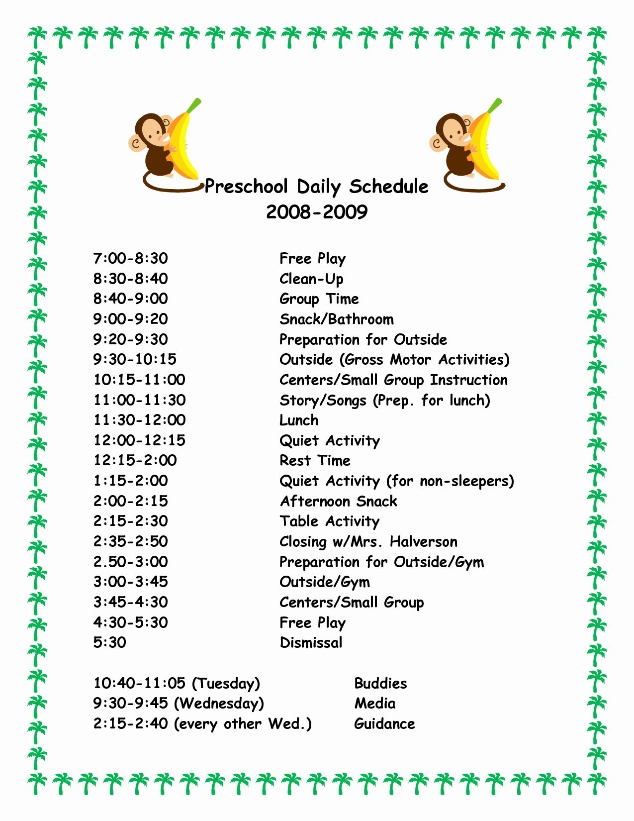 Take Print Picture Schedule For Free