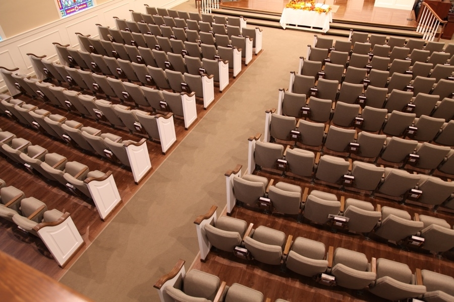Catch Church Seating Layout