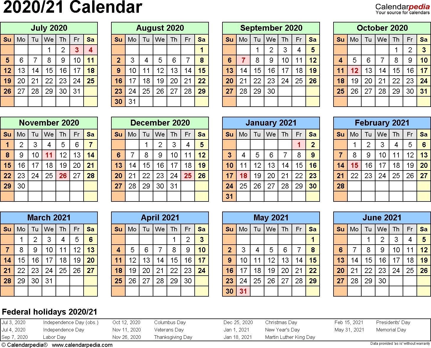 Catch Excel 2021 Calendar Formula