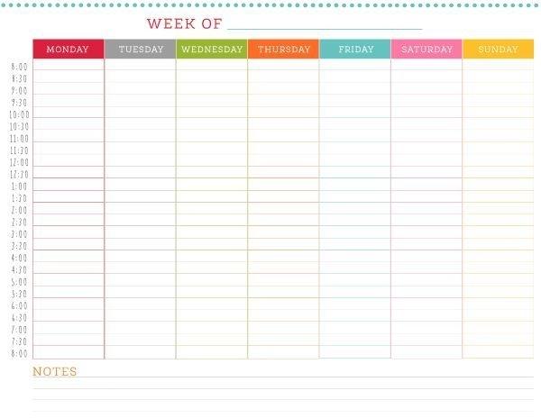 Catch Half Hour Schedule Weekly