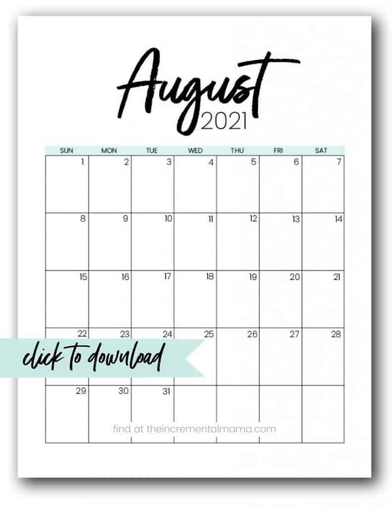 Catch Printable Calendar With No Download