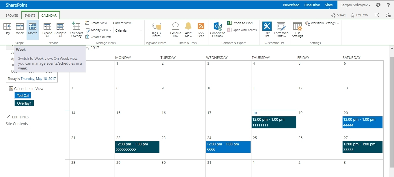 Catch Sp 2013 Calendar Overlays Duplicate Entries