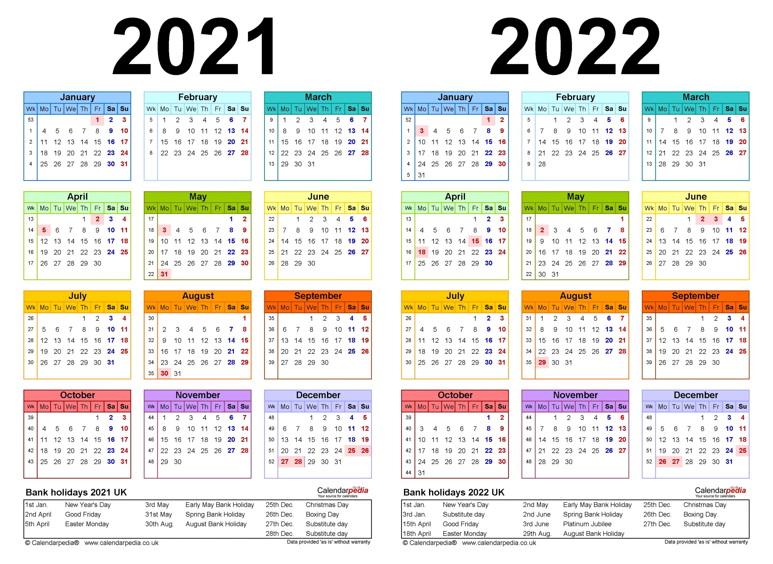 Catch Three-Year Calendar 2021 2022 2021