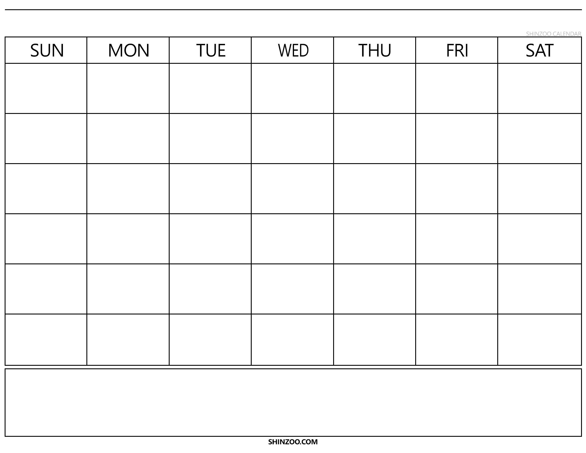 Collect No Download Printable Calendars
