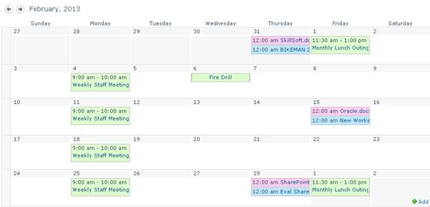 Collect Sp 2013 Calendar Overlays Duplicate Entries