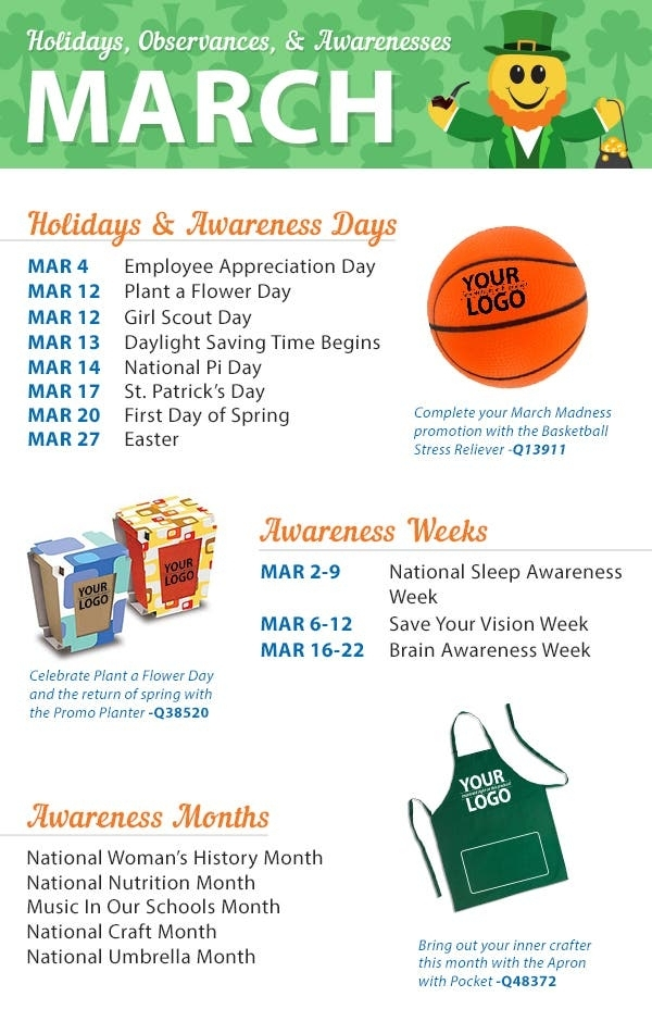 Get Days Of The Month Calendar With Special Days