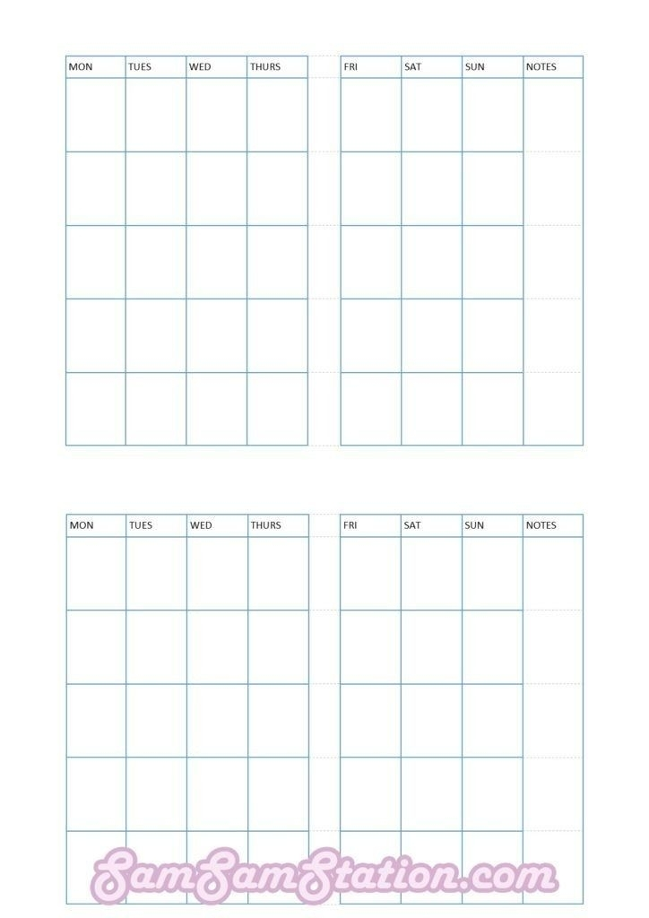 Get Printable Pocket Calendar