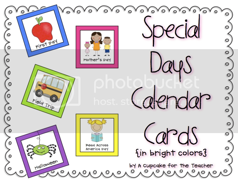 Pick Days Of The Month Calendar With Special Days